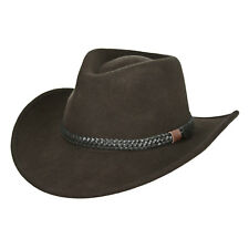 Outdoor Fishing Hiking OUTBACK Safari Australian Wool Felt Men's Hat Medium L XL