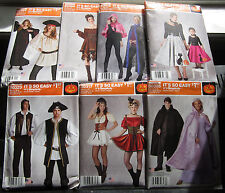 SIMPLICITY It's So Easy Costume Sewing Patterns, Steampunk, Fantasy & More!