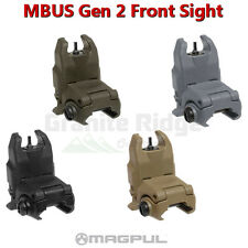 Magpul MBUS Front Sight Gen 2 Flip Up BUIS MAG247-BLK - Various Colors Available
