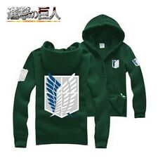 Attack On Titan Scouting Legion Cotton Clothes Coat Hoodie Hoody Costume Cosplay