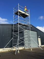 3.2m-14.2m British Kitemarked Industrial Scaffold Towers - Made in Great Britain