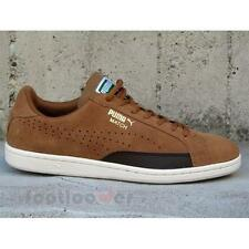 Shoes Puma Match 74 Suede 360144 02 sneakers skate moda man Tobacco Tennis