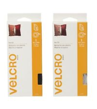 """Velcro Iron On 5 Ft x 3/4"""" Strip Fastener Tape Hook & Loop SELECT YOUR COLOR!"""