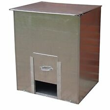 Glavanised Steel Coal Bunker Heavy Duty Coal Fuel Storage No.3/No.5/No.10 Trendy
