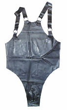 NEW Black Latex Rubber Male Wrestling Suit (ENGLISH) S M L XL