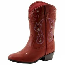 Jessica Simpson Girl's Starlet Fashion Western Boots Shoes