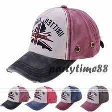 New Vintage Army Washed Trucker Hat Distressed Baseball Cap Snapback 4colors