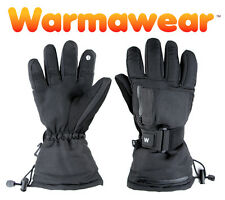 Heated Ski Gloves Thermal Mens Ladies Winter Battery Electric Cold Weather Sport