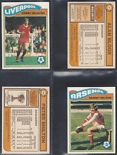 TOPPS - FOOTBALL 1978 ORANGE BACK (NUMBERS 001-030) PLEASE SELECT YOUR CARD.