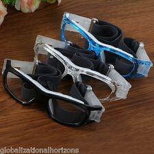 New Protective Eye Glasses Basketball Football Sports Eyewear Goggles PC Lens