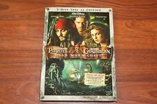 Pirates of the Caribbean: Dead Man's Chest (DVD, 2006, 2-Disc Set, Widescreen)