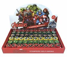 NEW Marvel Avengers Self Ink Stamps Birthday Party Favors Bag Filler Supplies~