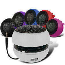 WHITE COMPACT 3.5MM CAPSULE SPEAKER FOR MOST MOBILE PHONES