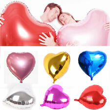 Giant Love heart Valentines Helium foil balloon party wedding birthday 32 Inch