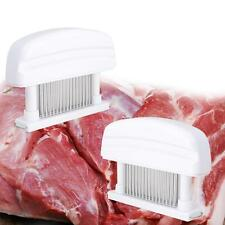 48 Sharp Stainless Steel Blade Knives Meat Tenderizer Kitchen Tool