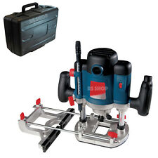 """2050W 1/2"""" Inch  Heavy Duty Plunge Router - Collets Bushes & Carry Case Warranty"""