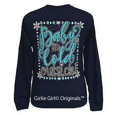 "Girlie Girl Originals ""Baby It's Cold Outside"" Long Sleeve Unisex Fit T-Shirt"