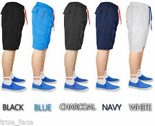 Mens Cargo Board Shorts Mesh Lined Beach Exercise Swim Surf Casual Trunks