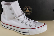 Converse All Star Boots Lace Up Boots White, Textile/Canvas, M7650 New