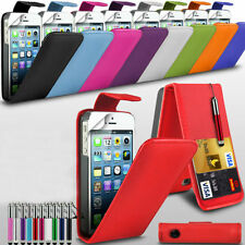 For Various Vodafone Phone Top Flip Case Cover & Retractable Stylus