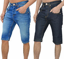 Mens Arrested Development Jeans Denim Shorts 5Pocket Skinny Tapered Fit Legend