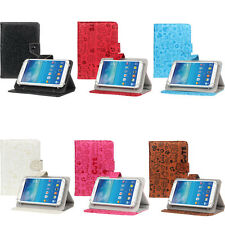2015 For 7 inch Android Tablet Universal Leather Stand Flip Keyboard Case Cover