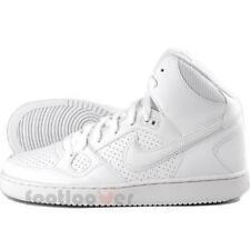 Shoes Nike Son Of Force Mid Gs 615158 109 Boys Girls White Basket Fashion