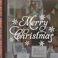 Merry Christmas Shop Window Display Sticker H713K