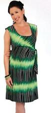 "NEW JAPANESE WEEKEND MATERNITY Modern ""DESK TO DINNER"" Faux Wrap Shift Dress $82"