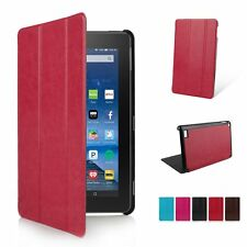 Ultra Thin Leather Smart Case Cover Stand for Amazon Kindle Fire HD 7 8 10 2015