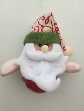 New Christmas Tree hanging Decorations Colour Bell Santa Snowman Reindeer Teddy