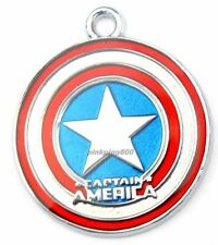 Lot Captain America Metal Charm Pendants DIY Jewelry Making Party Gift A044