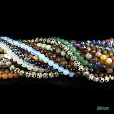 natural gemstone beads 8mm round stone jewelry design DIY 15.5""