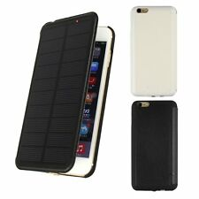 2800/4200mAh Extra Solar Power Backup Battery Charger Case For iPhone 6/6 Plus