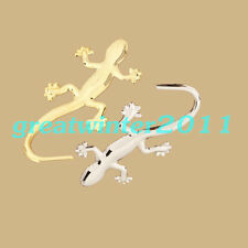 Metal 3D Gecko Shape Car Sticker Badge Emblem Logo Auto Car Truck Decor Decal