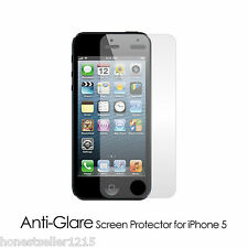 3X Pack Anti-Glare Screen Protector for iPhone & Samsung