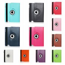 360 Rotating Leather Case Smart Stand Cover for Apple iPad 2 3 4 5 Mini Air WUS