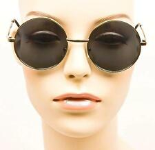 Goth Round Metal Silver Gold Frame Lennon Retro Circle Hip Cool Sunglasses 063