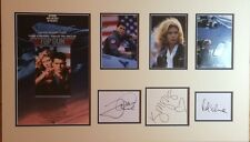 TOP GUN (Tom Cruise 1986 Film) SIGNED AUTOGRAPHS