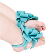 Lovely Baby Infant Toddler Boy & Girls' Pram Flower Belt Feet Shoes Posh Socks