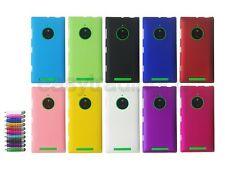 Hard Back Cover Case for Nokia Lumia 830 + Screen Protector + Stylus
