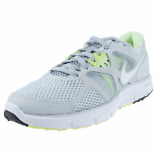 NIKE WOMENS LUNARGLIDE 3 BREATHE PURE PLATINUM WHITE WOLF GREY LIME 510802 010