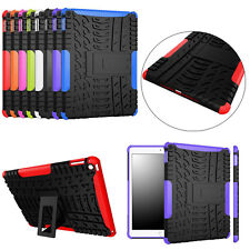 Fashionable Armor Hybrid Case PC+TPU Back Case Stand Cover For iPad Air 2 iPad 6