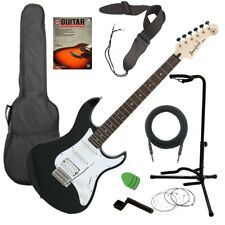 Yamaha Pacifica PAC012 Electric Guitar - Black GUITAR ESSENTIALS BUNDLE