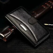 Luxury Leather Flip Card Wallet Case Cover For Samsung Galaxy Grand Prime G530