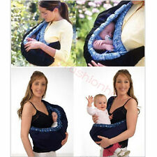 Newborn Infant Baby Toddler Native Cradle Pouch Ring Sling Carrier Wrap Bag HG