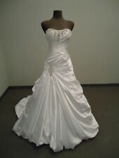 New White/ivory Bridal Dress Wedding Dresses Gown Stock size :6-8-10-12-14-16