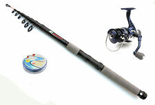 Silstar Cyma reel & compact telescopic Feeder / Leger rod combo
