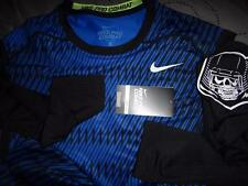NIKE PRO COMBAT COMBINE DRI-FIT LS COMPRESSION SHIRT MEN SIZE L M NWT $$$$