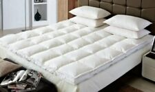 "Goose Feather & Duck Feather mattress topper Orthopedic 1"" & 2"" Memory Foam"